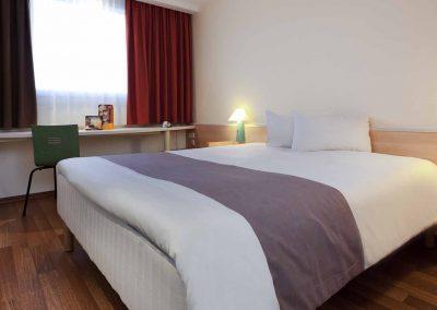 Ibis Hotel Berlin Dreilinden Standardzimmer Doppelbett